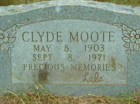 MOOTE, CLYDE - Crawford County, Arkansas | CLYDE MOOTE - Arkansas Gravestone Photos