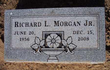 MORGAN, RICHARD L JR - Crawford County, Arkansas | RICHARD L JR MORGAN - Arkansas Gravestone Photos