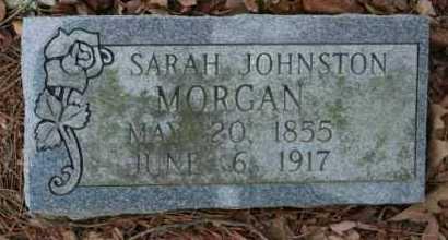 JOHNSTON MORGAN, SARAH - Crawford County, Arkansas | SARAH JOHNSTON MORGAN - Arkansas Gravestone Photos