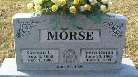 MORSE, VERA DAMA - Crawford County, Arkansas | VERA DAMA MORSE - Arkansas Gravestone Photos