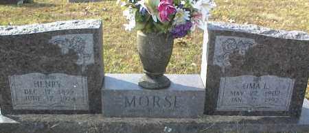 MORSE, OMA L - Crawford County, Arkansas | OMA L MORSE - Arkansas Gravestone Photos