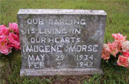 MORSE, IMOGENE - Crawford County, Arkansas | IMOGENE MORSE - Arkansas Gravestone Photos