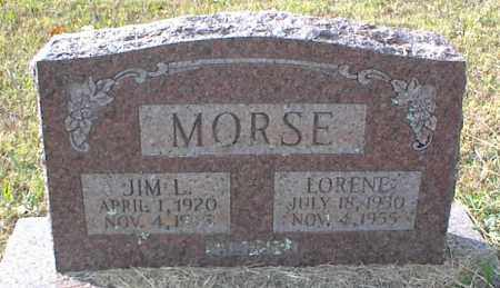 MORSE, JIM L - Crawford County, Arkansas | JIM L MORSE - Arkansas Gravestone Photos