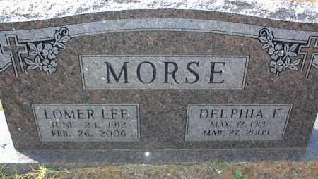 MORSE, DELPHIA F. - Crawford County, Arkansas | DELPHIA F. MORSE - Arkansas Gravestone Photos