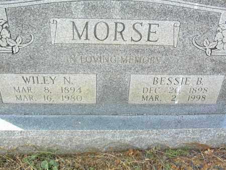 MORSE, WILEY N. - Crawford County, Arkansas | WILEY N. MORSE - Arkansas Gravestone Photos