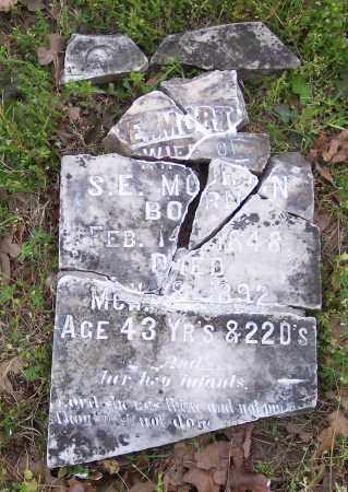 MORTON, E - Crawford County, Arkansas | E MORTON - Arkansas Gravestone Photos
