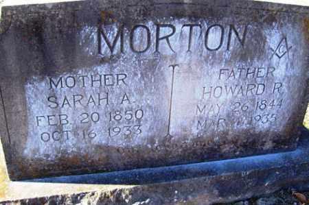 MORTON, SARAH A - Crawford County, Arkansas | SARAH A MORTON - Arkansas Gravestone Photos
