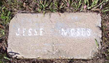 MOSES, JESSE - Crawford County, Arkansas | JESSE MOSES - Arkansas Gravestone Photos
