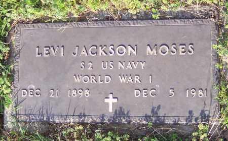 MOSES (VETERAN WWI), LEVI JACKSON - Crawford County, Arkansas   LEVI JACKSON MOSES (VETERAN WWI) - Arkansas Gravestone Photos
