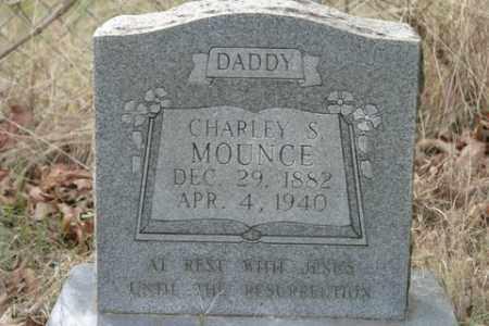 MOUNCE, CHARLEY S - Crawford County, Arkansas   CHARLEY S MOUNCE - Arkansas Gravestone Photos