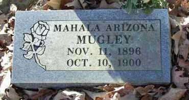 MUGLEY, MAHALA ARIZONA - Crawford County, Arkansas | MAHALA ARIZONA MUGLEY - Arkansas Gravestone Photos