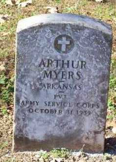 MYERS  (VETERAN), ARTHUR - Crawford County, Arkansas   ARTHUR MYERS  (VETERAN) - Arkansas Gravestone Photos