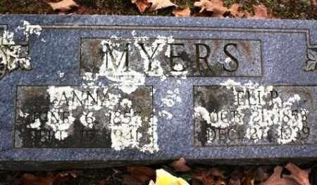 MYERS, ANNA - Crawford County, Arkansas | ANNA MYERS - Arkansas Gravestone Photos