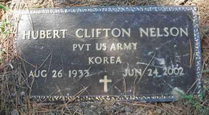 NELSON (VETERAN KOR), HUBERT CLIFTON - Crawford County, Arkansas | HUBERT CLIFTON NELSON (VETERAN KOR) - Arkansas Gravestone Photos