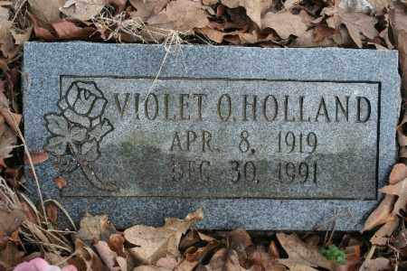 HOLLAND, VIOLET O - Crawford County, Arkansas   VIOLET O HOLLAND - Arkansas Gravestone Photos