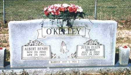 O'KELLEY, JULIA ELLEN - Crawford County, Arkansas | JULIA ELLEN O'KELLEY - Arkansas Gravestone Photos