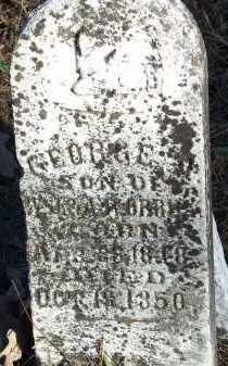 ORRICK, GEORGE A. - Crawford County, Arkansas | GEORGE A. ORRICK - Arkansas Gravestone Photos