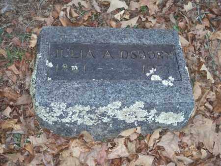 OSBORN, JULIA A. - Crawford County, Arkansas | JULIA A. OSBORN - Arkansas Gravestone Photos