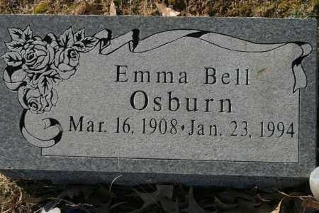 BELL OSBURN, EMMA - Crawford County, Arkansas   EMMA BELL OSBURN - Arkansas Gravestone Photos