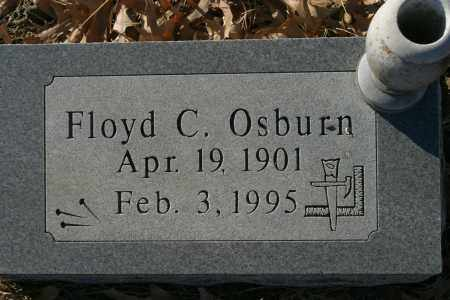 OSBURN, FLOYD C - Crawford County, Arkansas | FLOYD C OSBURN - Arkansas Gravestone Photos