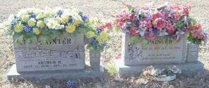 PAINTER, ARTHUR R. - Crawford County, Arkansas | ARTHUR R. PAINTER - Arkansas Gravestone Photos