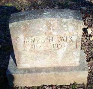 PAIR, JAMES M. - Crawford County, Arkansas   JAMES M. PAIR - Arkansas Gravestone Photos
