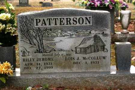 PATTERSON, BILLY JEROME - Crawford County, Arkansas | BILLY JEROME PATTERSON - Arkansas Gravestone Photos