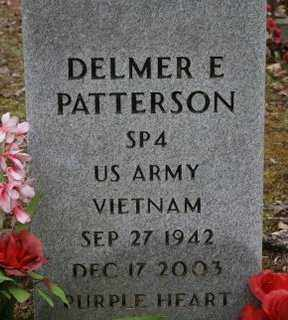 PATTERSON (VETERAN VIET), DELMER E - Crawford County, Arkansas | DELMER E PATTERSON (VETERAN VIET) - Arkansas Gravestone Photos
