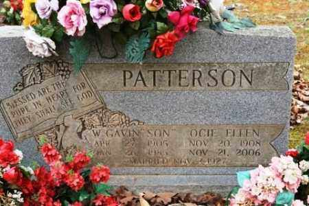 PATTERSON, OCIE ELLEN - Crawford County, Arkansas   OCIE ELLEN PATTERSON - Arkansas Gravestone Photos