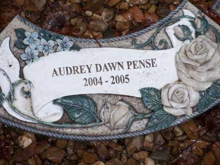 PENSE, AUDREY DAWN - Crawford County, Arkansas | AUDREY DAWN PENSE - Arkansas Gravestone Photos