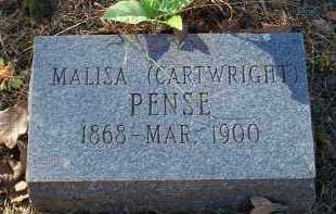 PENSE, MALISA - Crawford County, Arkansas | MALISA PENSE - Arkansas Gravestone Photos