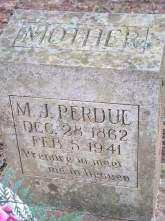 PERDUE, M J - Crawford County, Arkansas | M J PERDUE - Arkansas Gravestone Photos