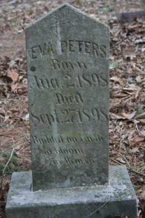 PETERS, EVA - Crawford County, Arkansas   EVA PETERS - Arkansas Gravestone Photos