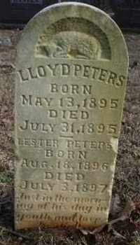 PETERS, LLOYD - Crawford County, Arkansas | LLOYD PETERS - Arkansas Gravestone Photos