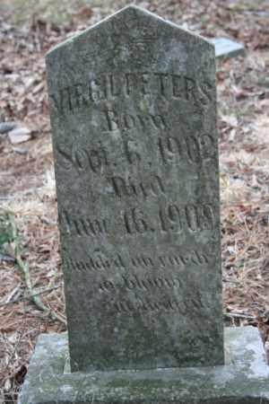PETERS, VIRGIL - Crawford County, Arkansas | VIRGIL PETERS - Arkansas Gravestone Photos