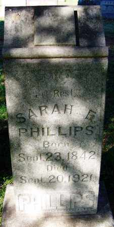 PHILLIPS, SARAH ELIZABETH - Crawford County, Arkansas   SARAH ELIZABETH PHILLIPS - Arkansas Gravestone Photos