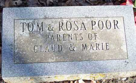 POOR, ROSA - Crawford County, Arkansas | ROSA POOR - Arkansas Gravestone Photos