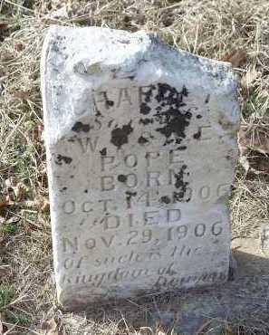 POPE, CHARLEY - Crawford County, Arkansas | CHARLEY POPE - Arkansas Gravestone Photos