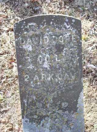 POPE, DAVID - Crawford County, Arkansas | DAVID POPE - Arkansas Gravestone Photos