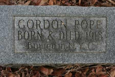 POPE, GORDON - Crawford County, Arkansas | GORDON POPE - Arkansas Gravestone Photos