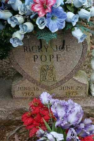 POPE, RICKY - Crawford County, Arkansas   RICKY POPE - Arkansas Gravestone Photos