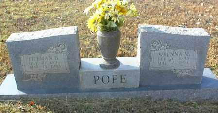 POPE, WRENNA M. - Crawford County, Arkansas | WRENNA M. POPE - Arkansas Gravestone Photos