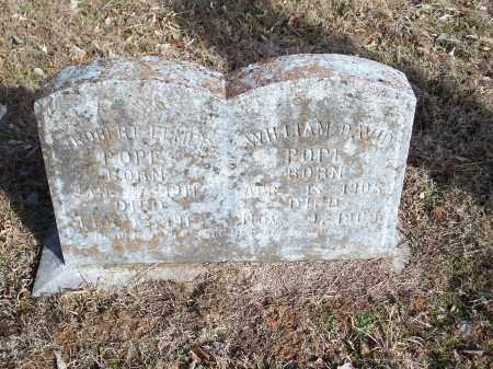 POPE, WILLIAM DAVID - Crawford County, Arkansas   WILLIAM DAVID POPE - Arkansas Gravestone Photos