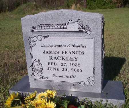 RACKLEY, JAMES FRANCES - Crawford County, Arkansas | JAMES FRANCES RACKLEY - Arkansas Gravestone Photos