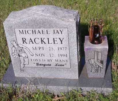 RACKLEY, MICHAEL JAY - Crawford County, Arkansas | MICHAEL JAY RACKLEY - Arkansas Gravestone Photos