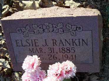 RANKIN, ELSIE J. - Crawford County, Arkansas   ELSIE J. RANKIN - Arkansas Gravestone Photos