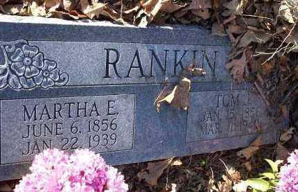 RANKIN, TOM J. - Crawford County, Arkansas | TOM J. RANKIN - Arkansas Gravestone Photos