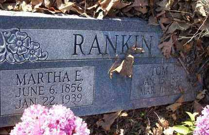 RANKIN, TOM J. - Crawford County, Arkansas   TOM J. RANKIN - Arkansas Gravestone Photos