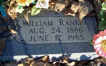 RANKIN, WILLIAM - Crawford County, Arkansas   WILLIAM RANKIN - Arkansas Gravestone Photos
