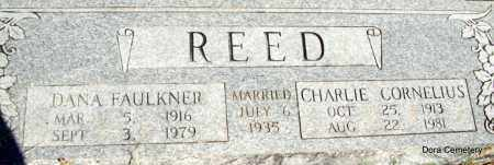 REED, DANA - Crawford County, Arkansas | DANA REED - Arkansas Gravestone Photos